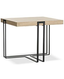 Pitt Wood End Table, Quick Ship