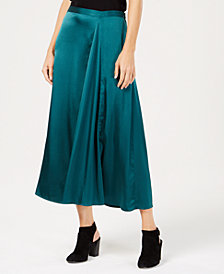 Eileen Fisher Silk Godet Skirt