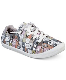 Women's Bobs Beach Bingo - Dog House Party Bobs for Dogs Casual Sneakers from Finish Line