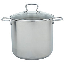 Range Kleen 16qt Stainless Steel Stock Pot with Lid