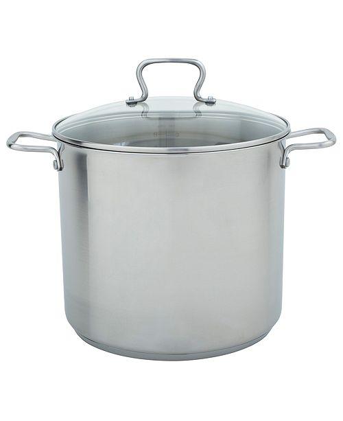 Moneta Range Kleen 16qt Stainless Steel Stock Pot with Lid