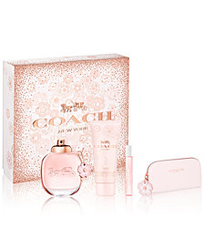 COACH 4-Pc. Floral Gift Set, A $138 Value