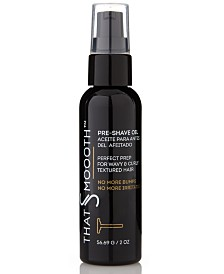 That's Smoooth Pre-Shave Oil, 2-oz.l from The Workshop at Macy's