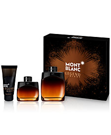 Montblanc Men's 3-Pc. Legend Night Gift Set