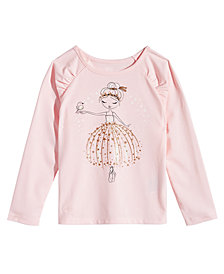 Epic Threads Little Girls Long-Sleeve Ballerina, Created for Macy's