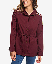 Roxy Juniors' Drawstring Utility Jacket