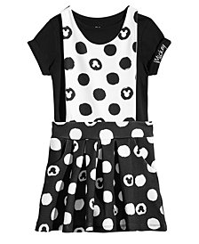 Disney Toddler Girls 2-Pc. Mickey Mouse T-Shirt & Jumper Set