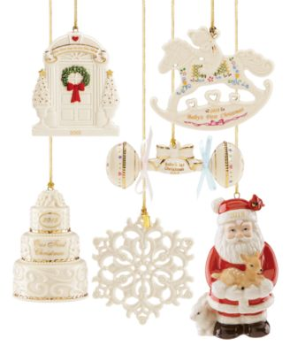 this item is part of the lenox 2018 annual ornaments