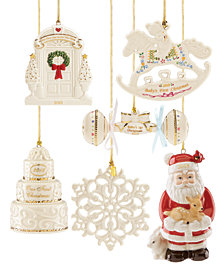 Lenox 2018 Annual Ornaments