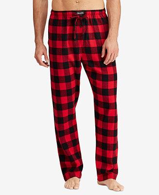 Polo Ralph Lauren Men S Plaid Flannel Pajama Pants