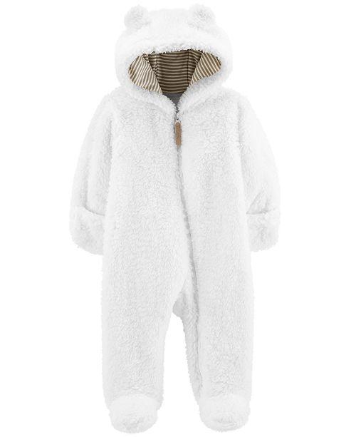 43b564393 Carter s Baby Girls Footed Fleece Pram   Reviews - Coats   Jackets ...