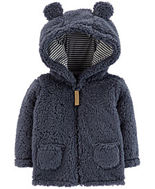 Carter's Baby Boys Hooded Sherpa Jacket