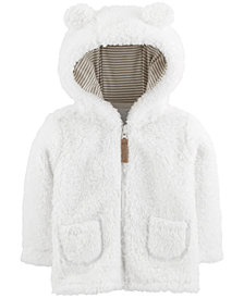 Carter's Baby Boys & Girls Hooded Fleece Jacket