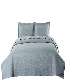 Pinsonic Coverlet - Beautiful Stitching Chinese Coin