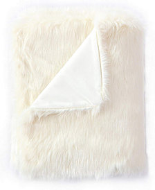Faux Fur Throw Blanket, Super Soft Fuzzy Light Weight Luxurious Cozy