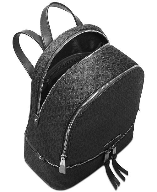 f1f3e41e03db Michael Kors Signature Rhea Zip Medium Backpack   Reviews - Handbags ...