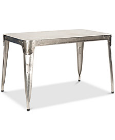 Weston Iron Dining Table, Quick Ship