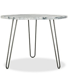 Mindy Wood Top Dining Table