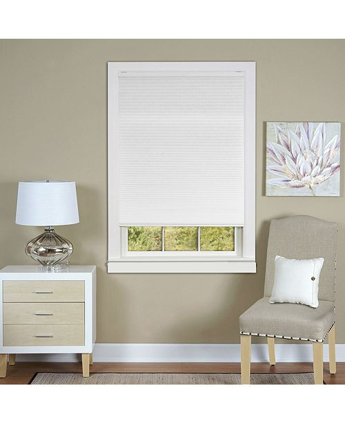 "Achim Cordless 29""x64"" Honeycomb Cellular Pleated Shade"