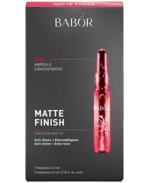 Babor Matte Finish Ampoule Concentrates, 0.4-oz.