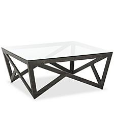 Ralston Glass Top Coffee Table