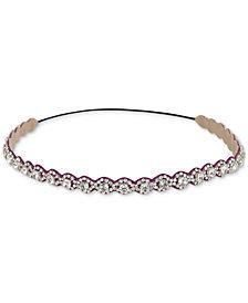 Deepa Silver-Tone Crystal Headband