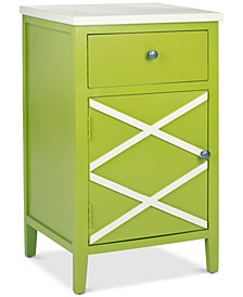 Alan 2-Drawer End Table, Quick Ship