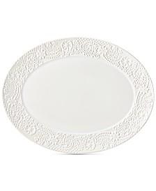 Lenox Chelse Muse Floral Oval Platter