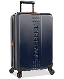 "Timberland Groveton 20"" Carry-On Hardside Spinner Suitcase"