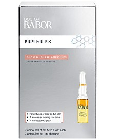 BABOR Doctor Babor Refine Rx Glow Bi-Phase Ampoule Concentrates, 0.2-oz.