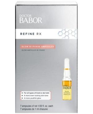 Babor Doctor Babor Refine Rx Glow Bi-Phase Ampoule Concentrates, 0.2-oz.