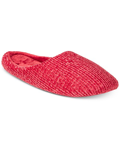 cbd62cf6778bf Chenille-Knit Scuff Slippers, Created for Macy's