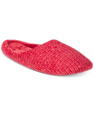 Image of Charter Club Chenille-Knit Scuff Slippers, Created for Macy's