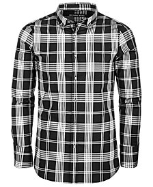 Michael Kors Men's Slim-Fit Plaid Shirt