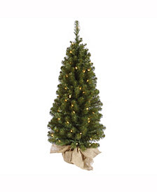 "42"" Felton Pine Artificial Christmas Tree with 100 Clear Lights"