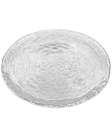 """Hammock 14.5"""" Round Glass Platter, Created for Macy's"""
