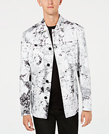 HUGO Men's Denim Marble Jacket