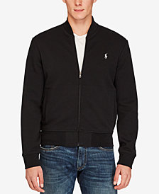 Polo Ralph Lauren Men's Big & Tall Double-Knit Bomber Jacket