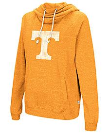 Colosseum Women's Tennessee Volunteers Speckled Fleece Hooded Sweatshirt