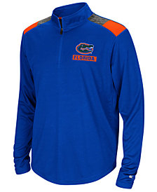 Colosseum Florida Gators 99 Yards Quarter-Zip Pullover, Big Boys (8-20)