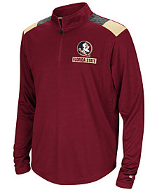 Colosseum Florida State Seminoles 99 Yards Quarter-Zip Pullover, Big Boys (8-20)
