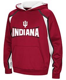 Indiana Hoosiers Poly Pullover Hoodie, Big Boys (8-20)