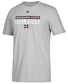 adidas Men's Mississippi State Bulldogs Performance Wordstack T-Shirt