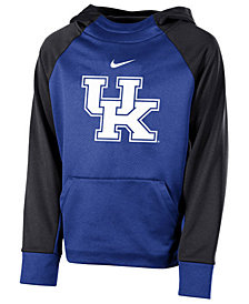 Nike Kentucky Wildcats Therma Color Block Hoodie, Big Boys (8-20)
