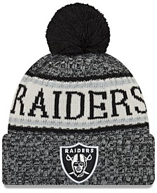 Oakland Raiders Sport Knit Hat