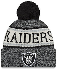 New Era Oakland Raiders Sport Knit Hat