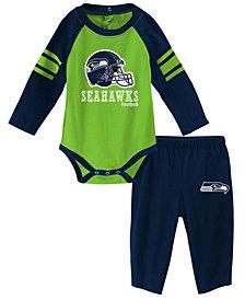 Outerstuff Seattle Seahawks Future Starter Pant Set, Infants (0-9 Months)