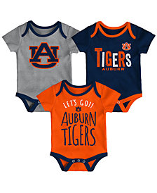 Outerstuff Auburn Tigers Lil Tailgater 3 Piece Set, Infants (0-9 Months)