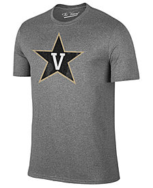 Retro Brand Men's Vanderbilt Commodores Alt Logo Dual Blend T-Shirt