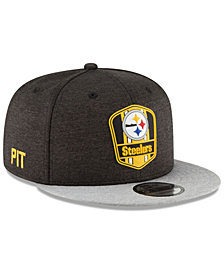 New Era Boys' Pittsburgh Steelers Sideline Road 9FIFTY Cap